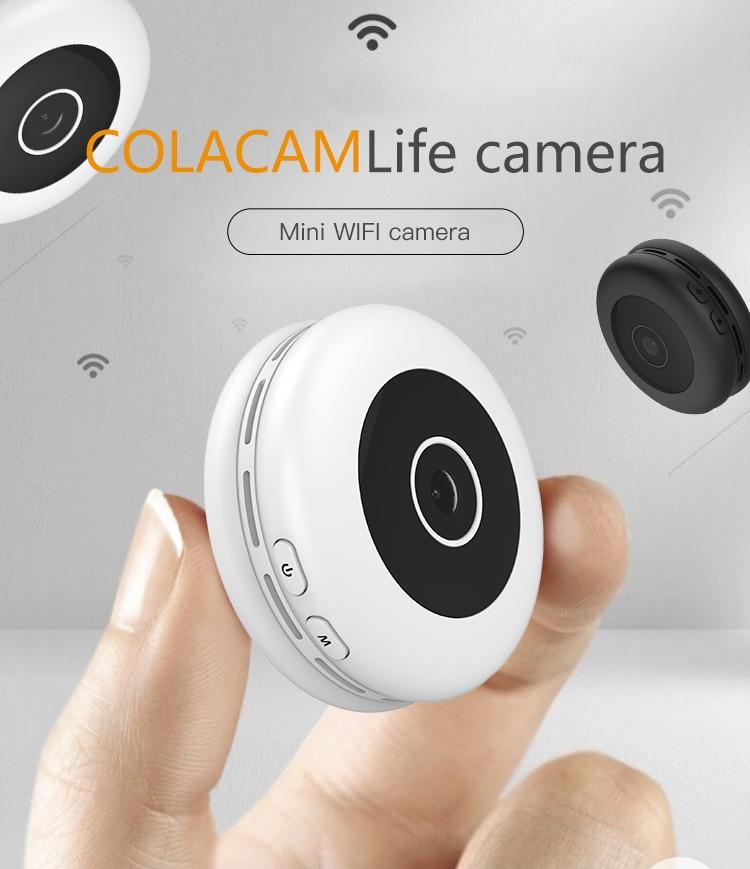 Super Mini HD 1080P Wifi bezprzewodowe bezpieczeństwo w domu kamera IP bezpieczeństwo sieć cctv kamera monitorująca noktowizor kontrola aplikacji