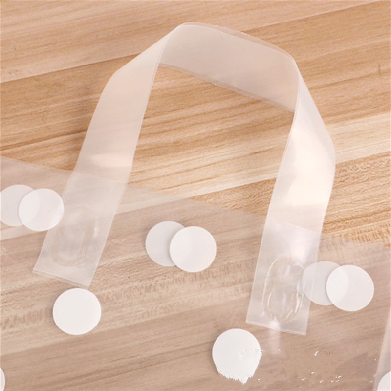 wedding : 50pcs 25x33cm Clothing Plastic carry bag Gift Shopping Bags Party Favor Thicken Wedding  Handle Bag Make up Gift Bags Packaging