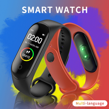 Pulsera de Fitness para hombres y mujeres, presión arterial, Monitor de ritmo cardíaco, Ecg, actividad, Fitness Tracker, Cargador Usb con Android Compatible con IOS