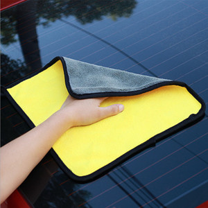 Image 2 - 3PCS 800GSM Super Microfiber Car Cleaning Towel Auto Washing Glass Household Cleaning Thick Towels Car Accessories