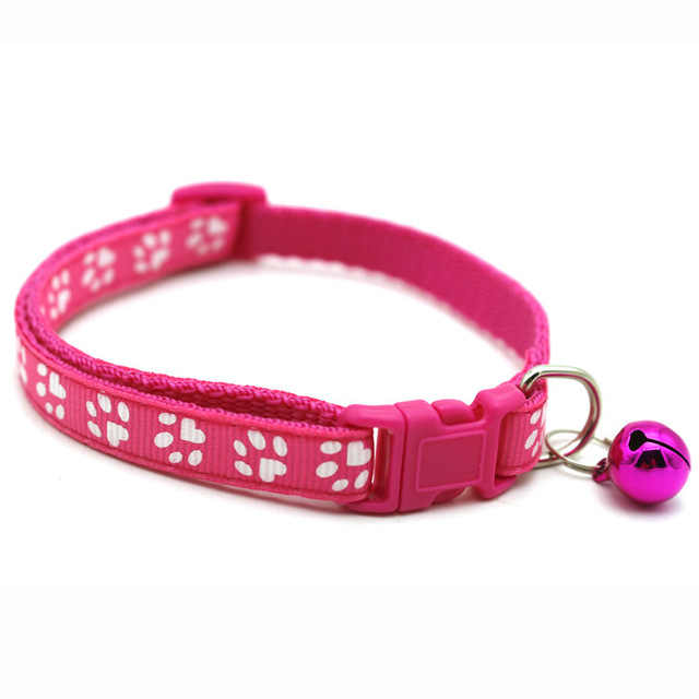 SUEF 犬の首輪ベル迷彩迷彩ストラップポリエステル調整可能な子犬動物犬の鎖安全犬用品