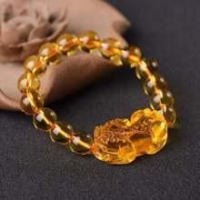 Лидер продаж модные браслеты pixiu 12 мм хрустальные бусины