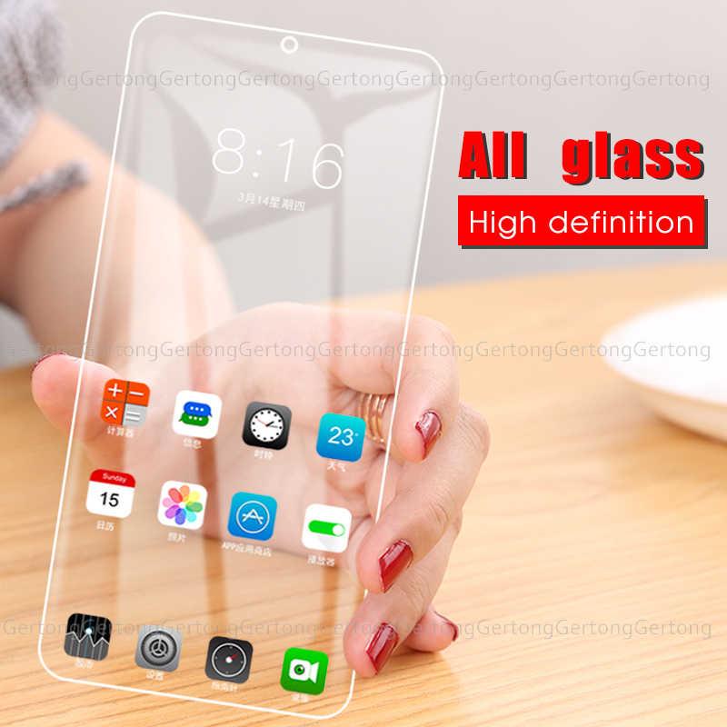 الزجاج المقسى 9H التغطية الكاملة ل شياو mi K20 اللعب Pocophone F1 mi A3 9SE قبل mi أم واقي للشاشة مع الأبيض الجانب إصلاح الغراء