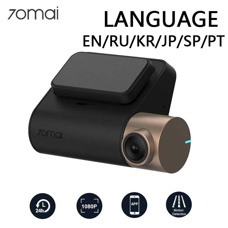70mai Dash Cam Lite 1080P GPS fonction de vitesse 70 mai Cam Lite 24H moniteur de stationnement 1080P 130FOV Vision nocturne 70MAI Wifi voiture DVR