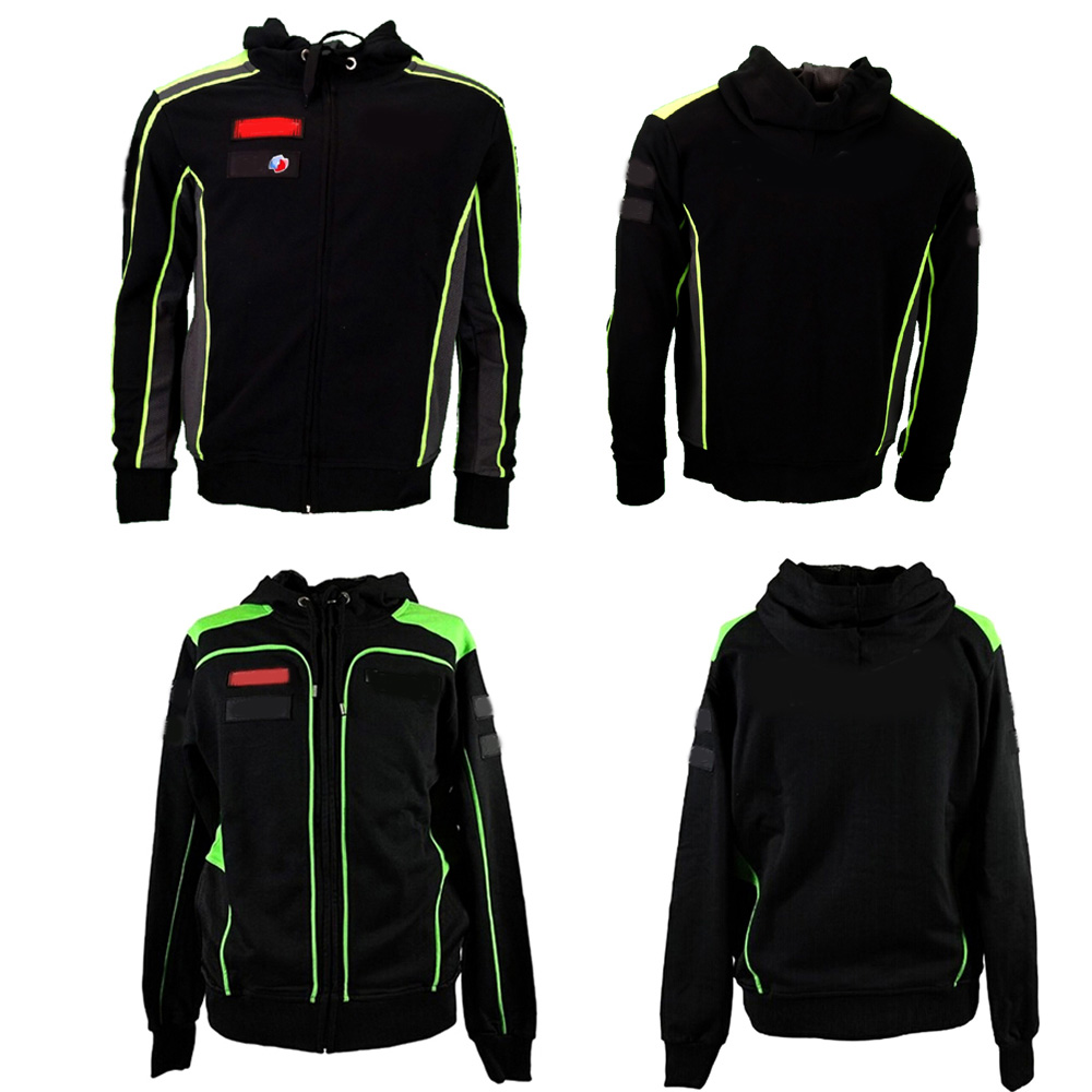 Knight Zipper hoodie Racing JACKET Suit Motorcycle knight Riding Sweater Coat Cotton Embroidery Recreational valentino rossi|Shirts & Tops|   - AliExpress