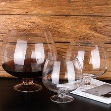 1000ml/2000ml/4000ml cocktail copo de vinho tinto taça de vidro canecas grandes copos de café brandy snifters copo de champanhe presente de natal