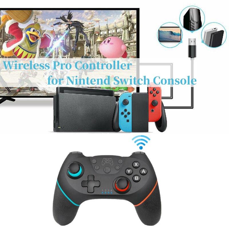 Controlador de Jogo sem fio para Nintend Interruptor Controlador Do Bluetooth Gamepad para Ns Interruptor Controlador Do Bluetooth Joystick