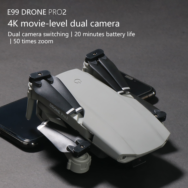 E99Pro RC Drone  Precision Fixed Point 4K HD Camera Professional Aerial Photography Helicopter Foldable Quadcopter 4