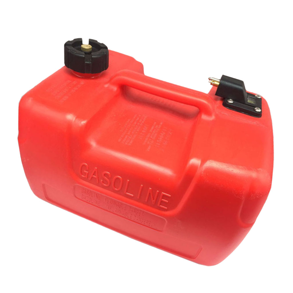 Réservoir de carburant hors-bord 12L essence essence bateau Portable Marine pour moteur 9.9HP