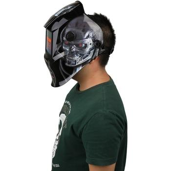 New Solar Energy Automatic Variable Light Electric Welding Mask/Helmet/Welder Cap/Lens/Face with Adjustable Headband Knob