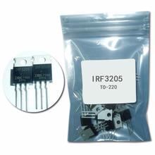 10 قطعة IRF3205 الترانزستور إلى 220 IRF3205PBF الترانزستور MOSFET 55V 98A 8 موهم 97.3nC irf3205 الترانزستور إلى 220 mosfet