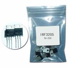 10PCS IRF3205 transistor TO 220 IRF3205PBF transistor MOSFET 55V 98A 8mOhm 97.3nC irf3205 transistor TO 220 mosfet