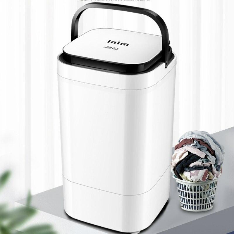 Wash Machine Single-barrel Wave Wheel 4.5KG Blu-ray Bacteria Home/Residence Semi-automatic   Washer And Dryer