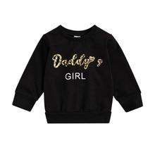Hoodies Sweatshirt Baby-Girl Toddler Kid 0-3T Outfit Top Pullover Autumn Elegant Long