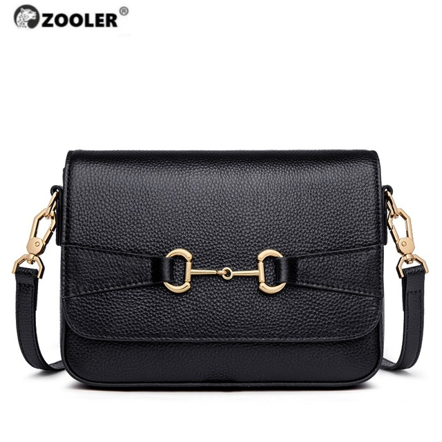 Presell ZOOLER Exclusively Genuine Leather Shoulder Bags Women Luxury Designed Woman bags Ladies Circle Hardware Girls Bag#WG252