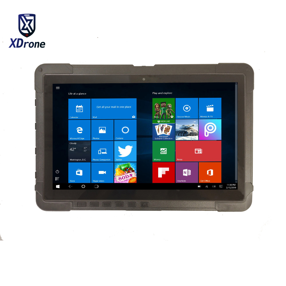 11.6 Inch Tablet 2 In 1 Ultrabook Laptop Tablet With Keyboard Rugged Windows Military Computer Intel Celeron 4G RAM +128GB SSD