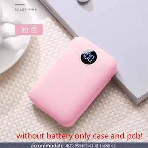 Image 4 - qc3.0 diy power bank 18650 case  PD18w Battery Fast Charger Box shell DIY quick charge 3.0 mini battery box