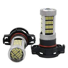 Empareje el coche H16 PS24WFF 5202 9009 12086 PG20-3 5201 PS19W Proyector Canbus LED sin errores Bombilla antiniebla DRL