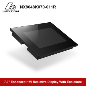 Image 3 - Nextion Enhanced NX8048K070 011R   7.0 Full color LCD Display HMI Resistive Touch Screen Module Built in RTC With Enclosure