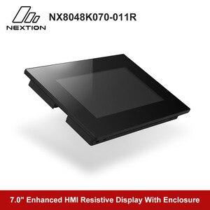 Image 3 - Nextion משופר NX8048K070 011R   7.0 מלא צבע LCD תצוגת HMI מגע Resistive מסך מודול מובנה RTC עם מארז
