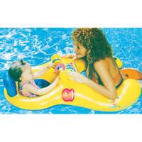 Anillo de natación circular para madre e hijo, Flotador para bebé, accesorios para piscina, ruedas inflables, círculos de nadador