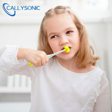 CALLYSONIC 3-Sided Silicone Nano Brush Kids Oral Care Safety Teeth Brush Oral Health Cleaner Dental Clean Toothbrush Children