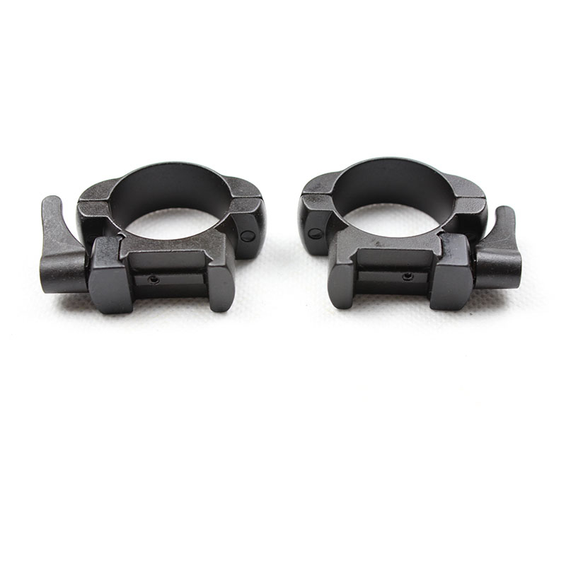 steel Weaver rings 30MM Low Profile Black Matte Top Mount in Scope Mounts Accessories from Sports Entertainment