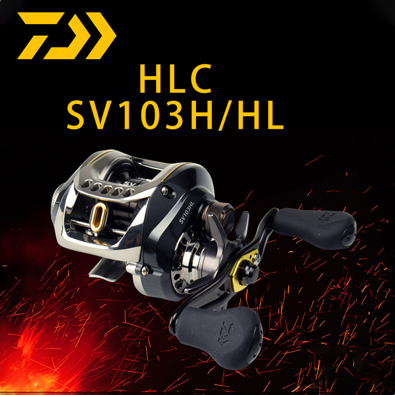 DAIWA US version HLC water drop wheel SV103H/HL Japanese version Zilong HLC extended version of the ultra long-range road Asian