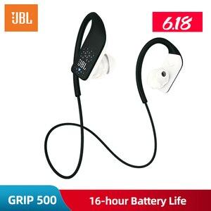 Image 5 - ต้นฉบับ JBL GRIP 500 แฮนด์ฟรีไร้สายหูฟังบลูทูธกีฬาหูฟัง Call พร้อมไมโครโฟน fone de ouvido สเตอริโอ
