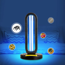 38W UV Disinfection Lamp Quartz Ultraviolet Germicidal Light Ozone UVC Sterilizer Kill Dust Mite LED Lamp with Remote Timing(China)