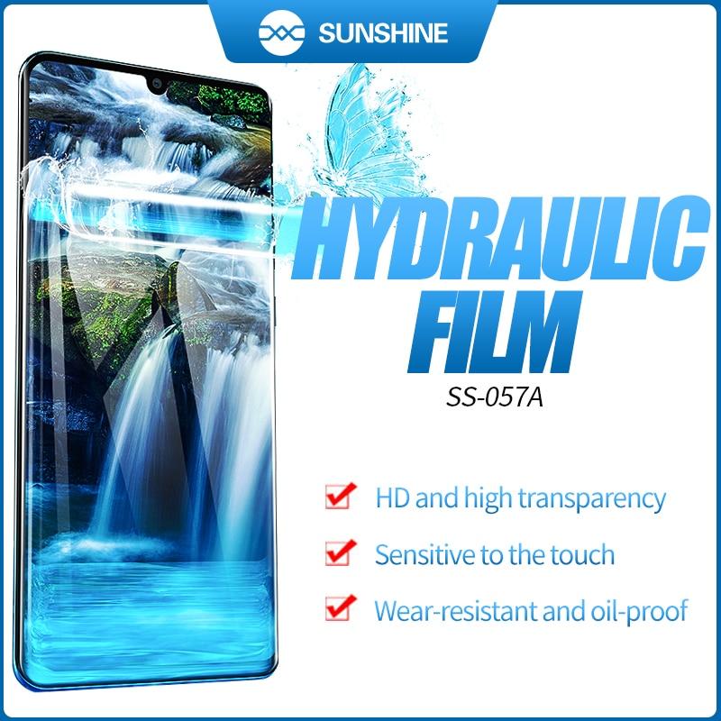 890C Film Machine Mobile Cutting Auto 057A 50pcs Front SS Film Cut Sunshine SS For Phone Screen Flexible Hydrogel Film