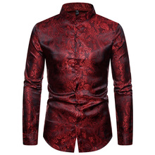 A man in a shirt with long sleeves and lapels. sleeve men  shirts dress for