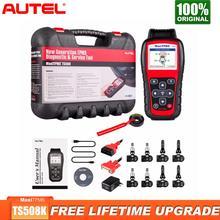 Autel TS508K tpms診断ツール、tpmsセンサーチェックtpmsシステム健康、プログラムmx センサーtpms再学習行動TS508 vs TS401