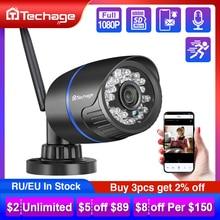 Techage 1080P Drahtlose Wifi IP Kamera TF Karte Audio Record 2MP IR Cut Night Vision P2P Onvif CCTV Outdoor video Überwachung