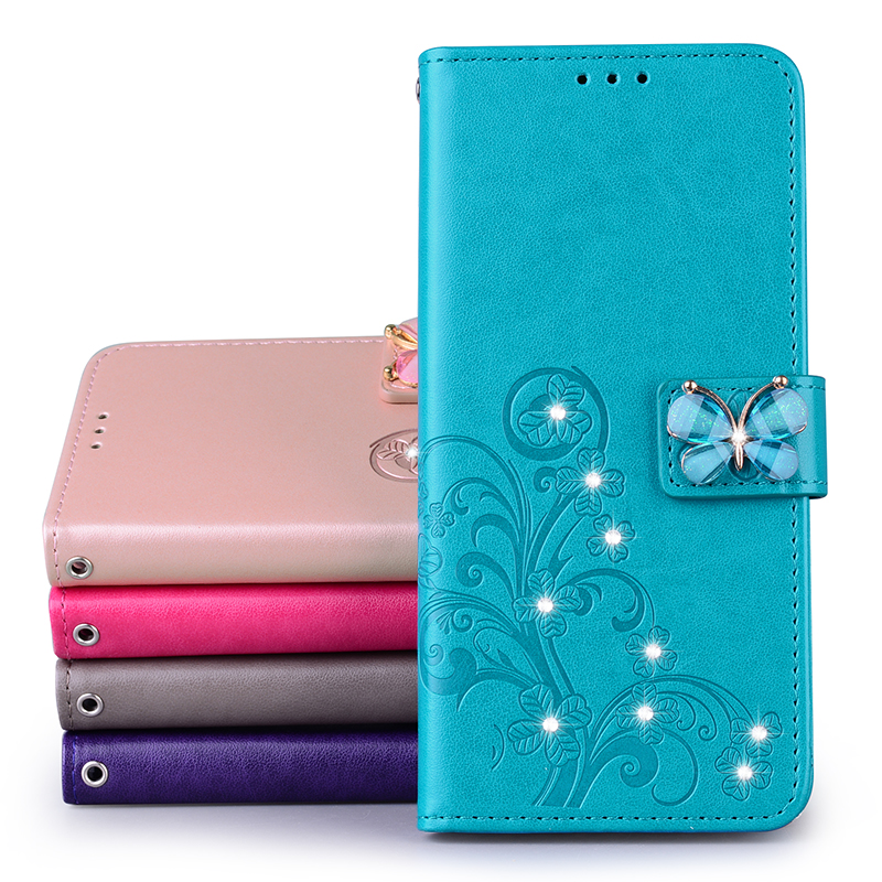 Butterfly Leather Wallet Cover Flip Case For Samsung Galaxy S20 Ultra J4 Plus J6 S10 M21 A51 A71 A50 A40 A30 S A20 A10 A21S Case