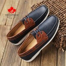 Autumn Men Shoes 2020 New Fashion Loafers Shoes Men Comfy PU Leather Mens Flats Brand Male mocasines Footwear Men Casual Shoes