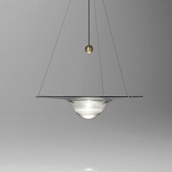 nordic luminaria pendente deco maison glass ball  restaurant  bedroom LED  pendant lights hanging lamp hanglamp