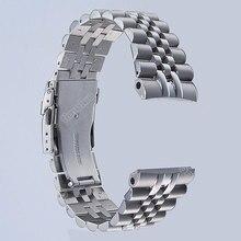 Timelee العلامة التجارية حزام (استيك) ساعة حزام وزارة الدفاع ل 22 مللي متر السلاحف Prospex SRP773 ، SRP775 SRP777 SRP779 و سادة 316L الفولاذ المقاوم للصدأ سوار