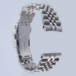 Image 1 - Timelee العلامة التجارية حزام (استيك) ساعة حزام وزارة الدفاع ل 22 مللي متر السلاحف Prospex SRP773 ، SRP775 SRP777 SRP779 و سادة 316L الفولاذ المقاوم للصدأ سوار