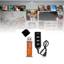 128G Expansie Plug Dubbele Spelen Open Bron Simulator Game Enhancer Stok Kids Vervanging Deel Met Hub Draagbare Voor PS1 mini
