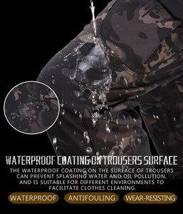 Image 5 - HAN WILD Men Sharkskin spodnie taktyczne Cargo Combat SWAT szkolenie wojskowe spodnie wojskowe Airsoft azjatyckie spodnie piesze wycieczki polowanie spodnie
