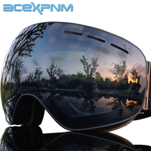 ACEXPNM Brand Ski Goggles Men Women Snowboard Goggles Glasses for Skiing UV400 Protection Snow Skiing Glasses