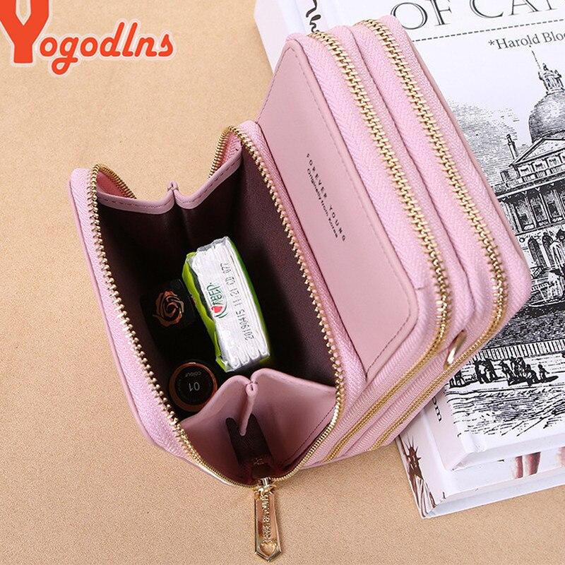 Yogodlns Crossbody Cell Phone Shoulder Bag Cellphone Bag Fashion Daily Use Card Holder Mini Summer Shoulder Bag for Women Wallet 6