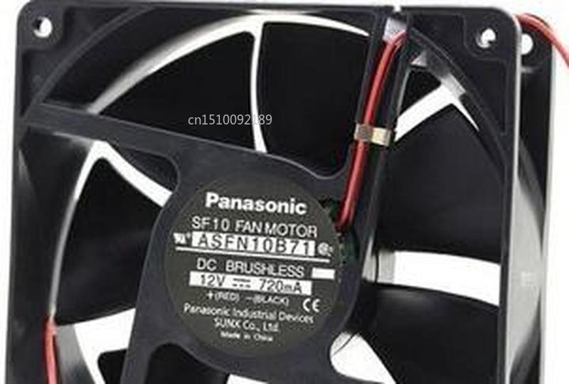 FOR Panasonic 12038 12CM Double Ball Bearing ASFAN10B71 720mA Cooling Fan Free Shipping