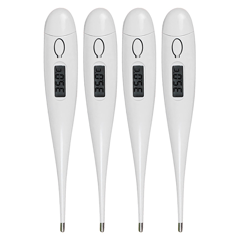 4PCS Digital Electronic Water Thermometer For Household Use Baby Thermometer With Prompt Function Oral Electronic Thermometer.