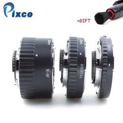 ADPLO for Nikon Metal Auto Focus Macro Extension Tube Set MK-N-AF1-A 12+20+36mm