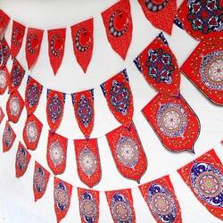 Eid Mubarak Ramadan Banner Vlaggen Gelukkig Eid Islamitische Nieuwjaar Decor Gelukkig Ramadan Moslim Festival Vlag Decor Levert Eid Mubarak
