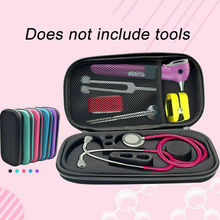 Multicolor EVA Hard Shell Portable Stethoscope Storage Box Carry Travel Case Bag Drive Pen Medical Organizer