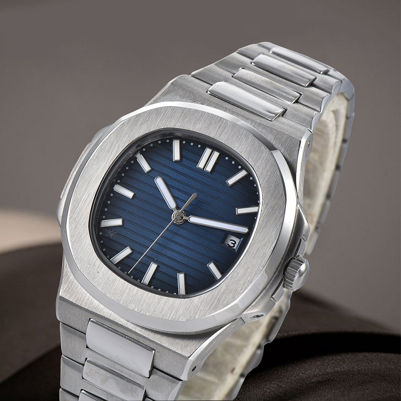 Permalink to Watch Men 41mm Automatic mechanical watch Waterproof luminous steel watch NAUTILUS stainless steel case steel bracelet 007