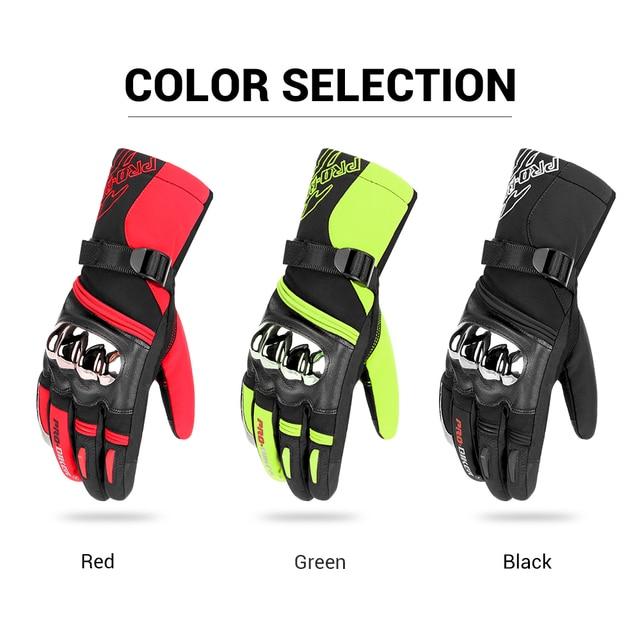 Microfiber Motorcycle Gloves 5